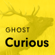 Curious - Blog and Magazine Ghost Theme Nulled