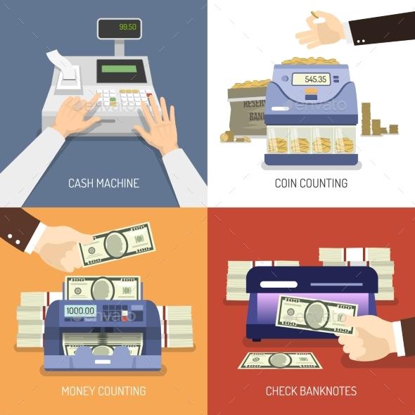 Bank Design Concept - Business Conceptual