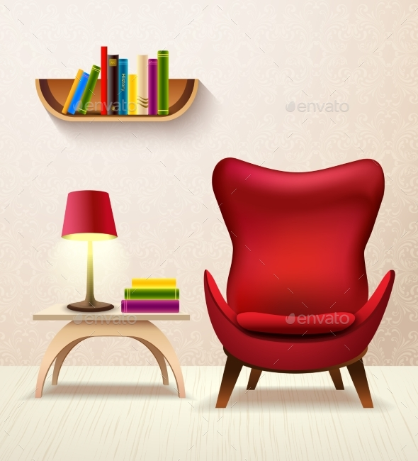 Room Cartoon Interior - Man-made Objects Objects