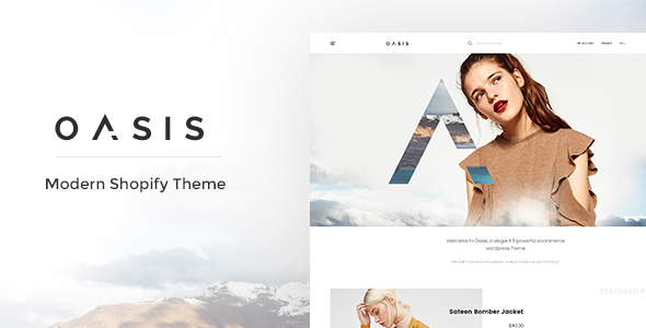 Image of Oasis - Modern Shopify Theme