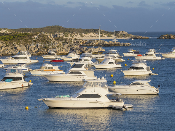 Geordie Bay on Rottnest Island - Stock Photo - Images
