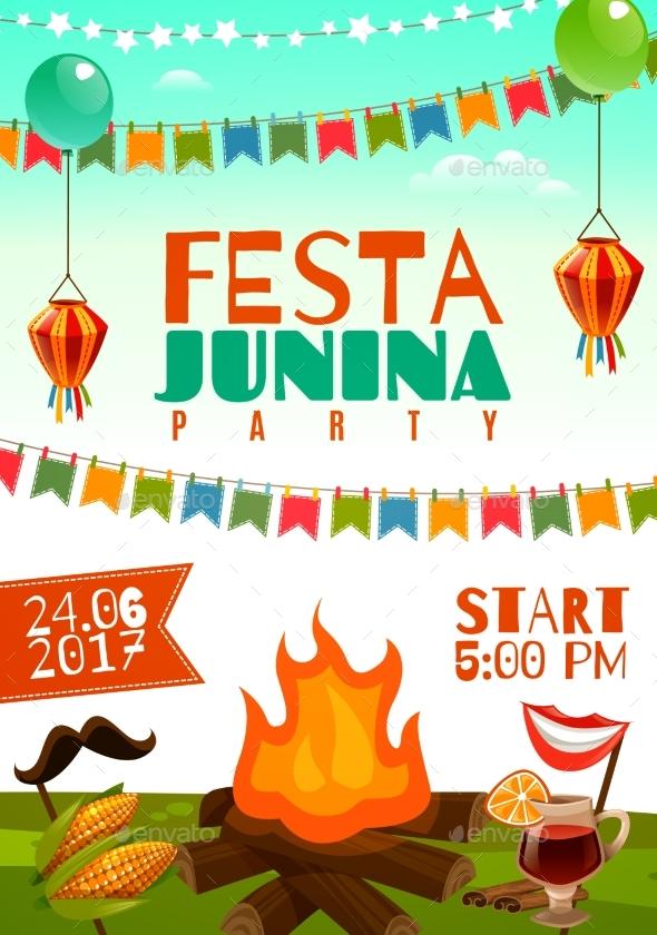 Festa Junina Poster - Seasons/Holidays Conceptual