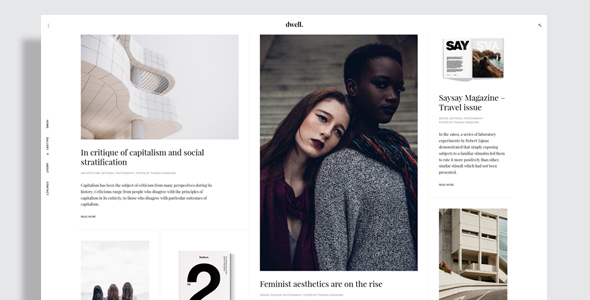 Dwell – Magazine WordPress Theme