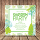 Summer Garden Party Invitation - GraphicRiver Item for Sale
