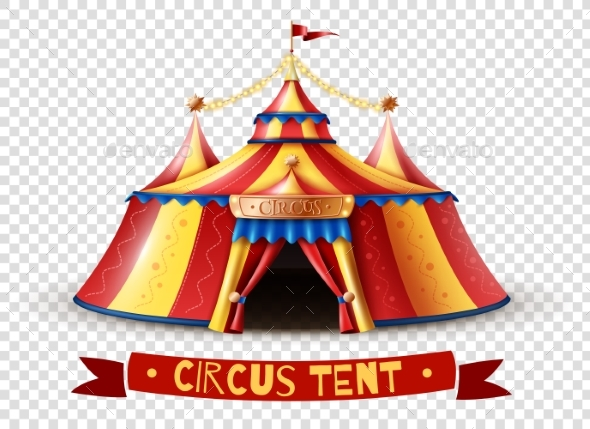 Circus Tent Transparent Background Image - Backgrounds Decorative