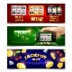 Slot Machine Banners Set