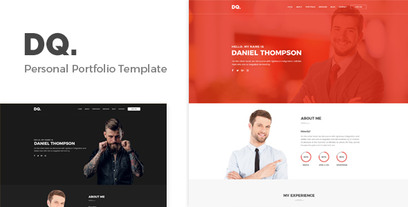 DQ – Personal Portfolio Template