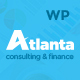 Atlanta - Consulting & Finance WordPress Theme - ThemeForest Item for Sale