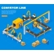 Conveyor Line Concept - GraphicRiver Item for Sale