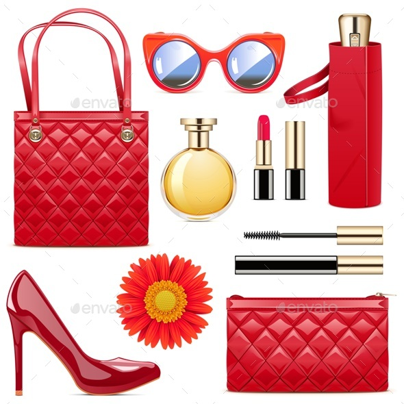 Vector Fashion Accessories - Retail Commercial / Shopping