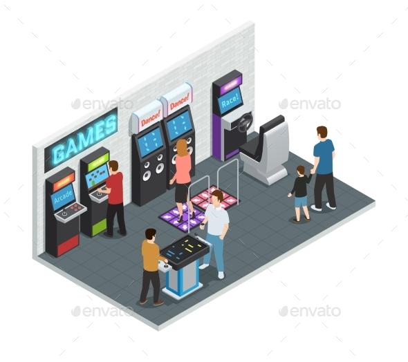 Game Club Interior Concept - Sports/Activity Conceptual