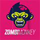 Zombimonkey Logo - GraphicRiver Item for Sale