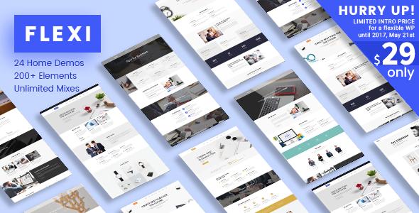 Flexi WP | Flexible Multipurpose Responsive WordPress Theme