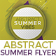 Abstract Summer Vibes/Sound/Night/Party Flyer Nulled