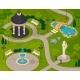 Park Landscape Isometric Design Composition