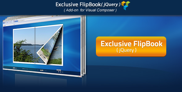 Visual Composer Add-on - Exclusive jQuery FlipBook - CodeCanyon Item for Sale