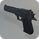 Low Poly Desert Eagle - 3DOcean Item for Sale