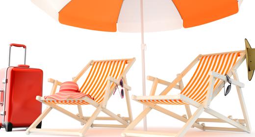 Beach Vacations - 3D Renders