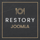 Restory - Restaurant & Cafe Joomla Template Nulled