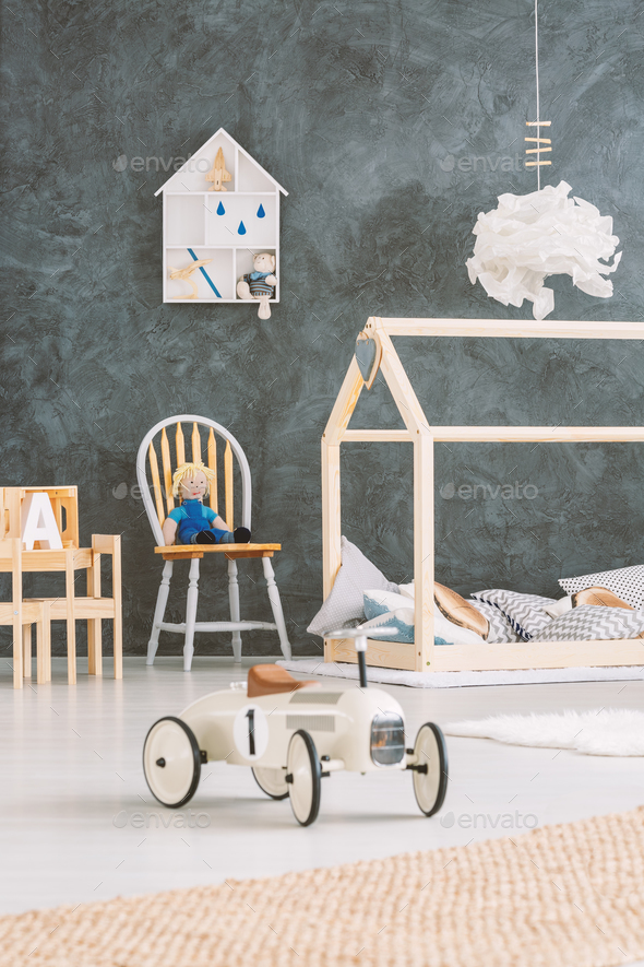Cosy childs room - Stock Photo - Images