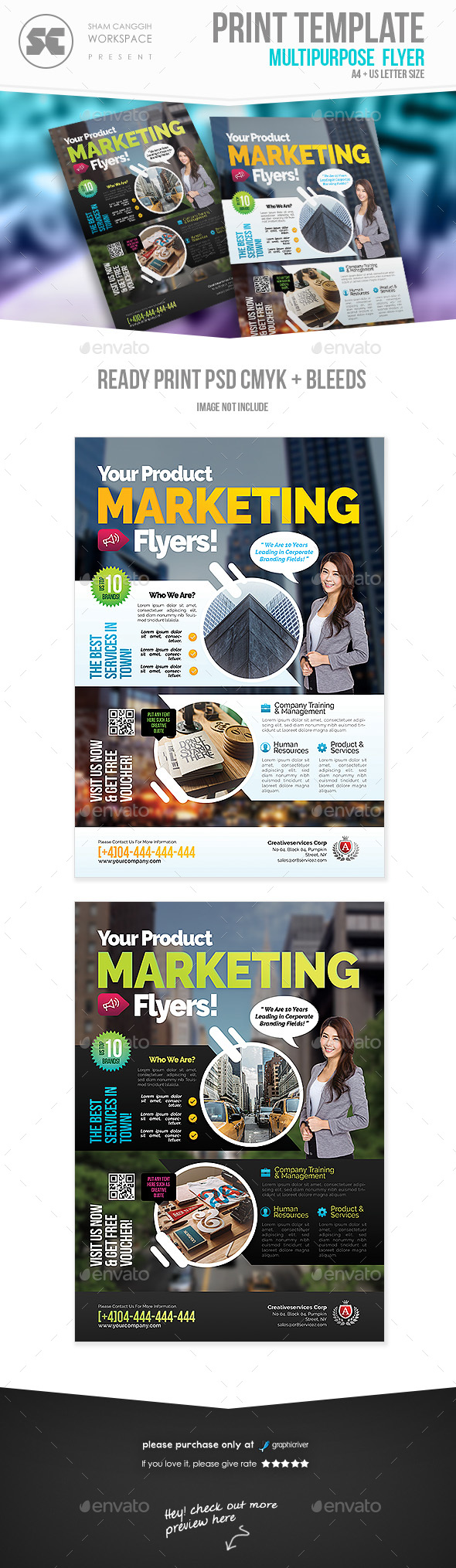 Product Marketing Flyer - Corporate Flyers