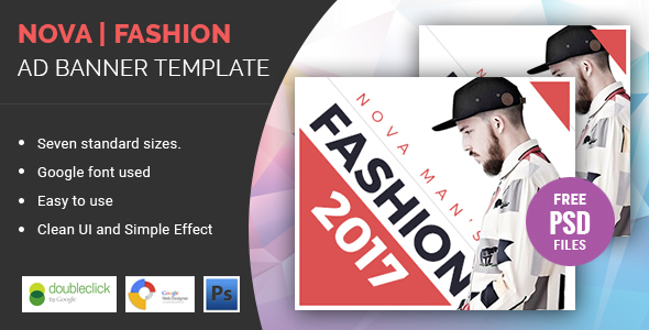 Nova | Fashion HTML 5 Animated Google Banner - CodeCanyon Item for Sale