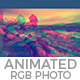 Animated RGB Photo Template