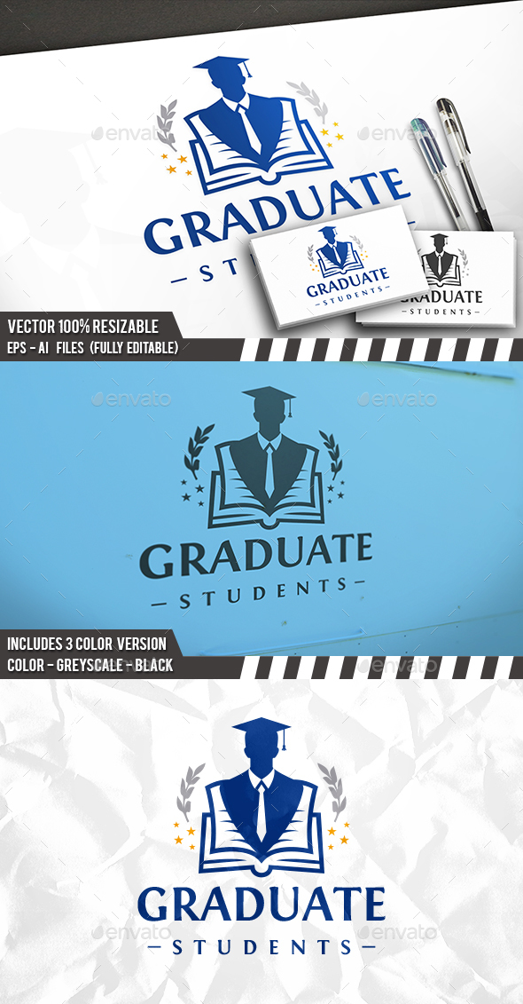 Student Academy Logo - College Logo Templates