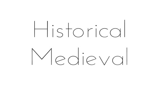 Historical, Medieval