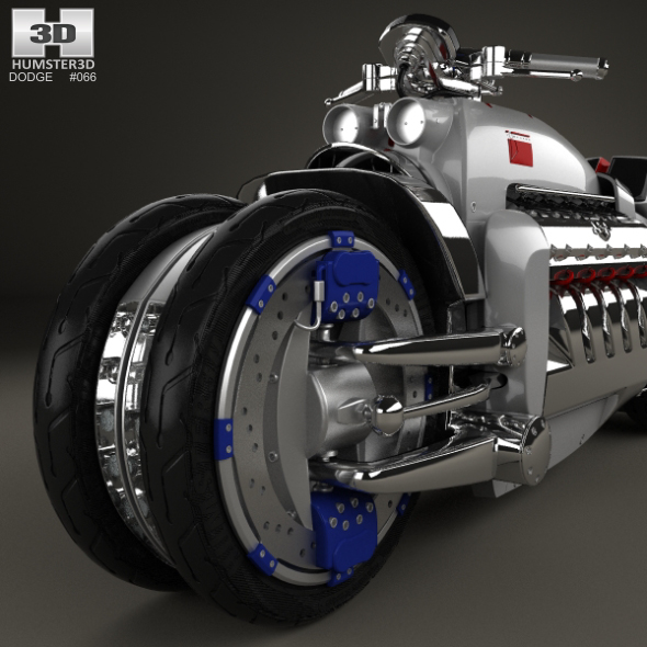 Dodge Tomahawk 2003 by humster3d   3DOcean