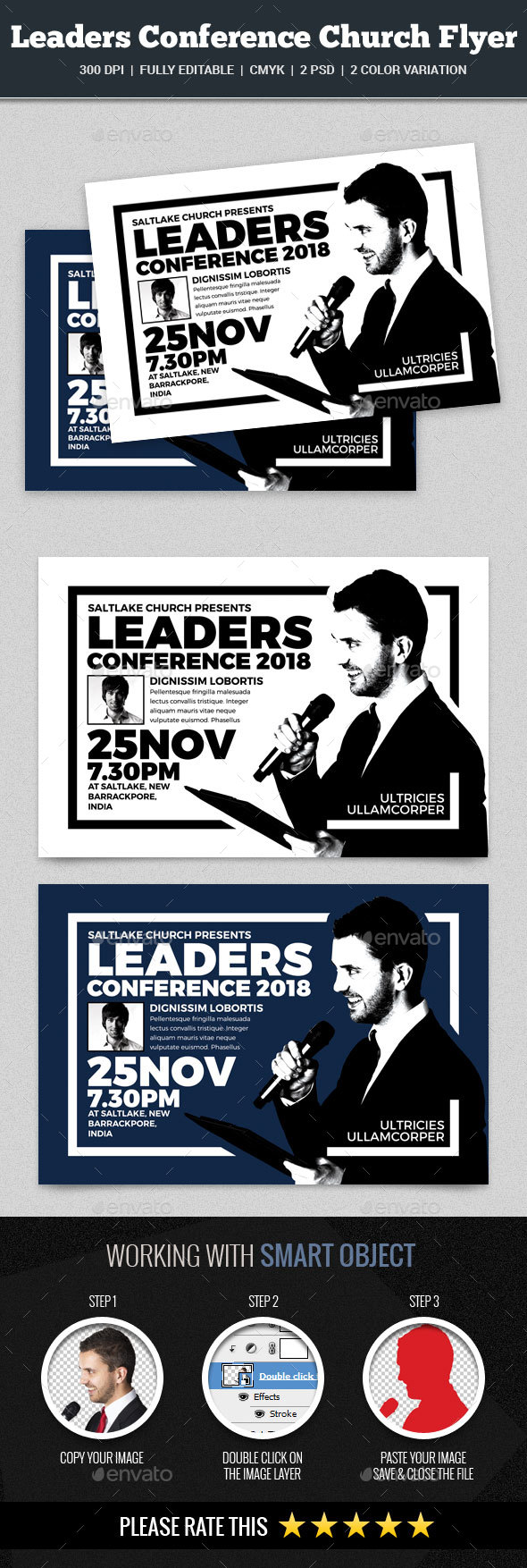 Leaders Conference Church Flyer - Church Flyers