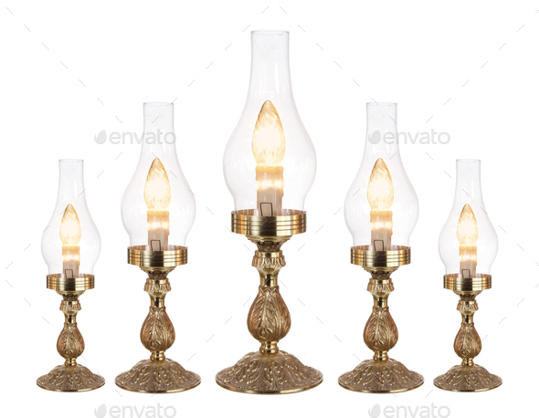 Table Lamps - Stock Photo - Images