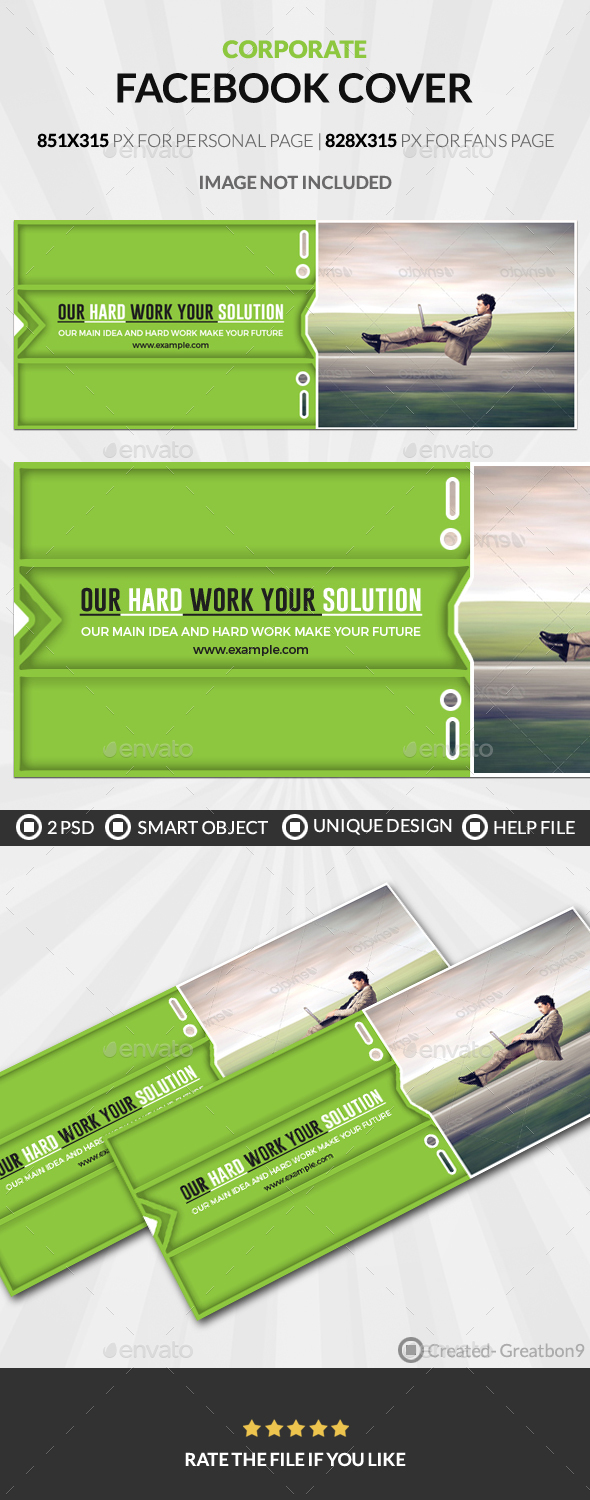 Corporate Business Facebook Cover - Facebook Timeline Covers Social Media
