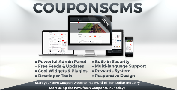 Coupons CMS 6 - CodeCanyon Item for Sale
