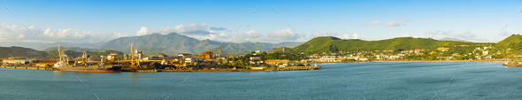 Noumea New Caledonia Panorama - Stock Photo - Images