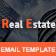 REAL ESTATE - Multipurpose Responsive Email Template With Stamp Ready Builder Access - ThemeForest Item for Sale