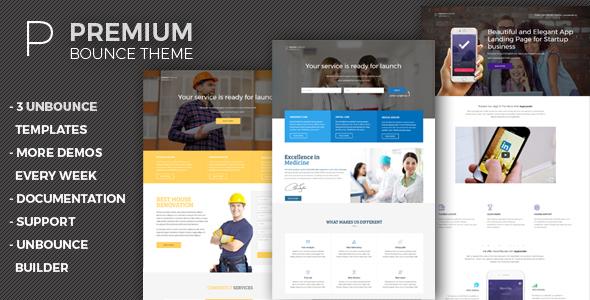 Premium – Unbounce Templates Pack