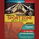 Sport Event Flyer / Poster - GraphicRiver Item for Sale