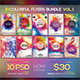 10 Colorful Flyers Bundle Vol. 1 - GraphicRiver Item for Sale