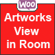 WooCommerce Artworks view in Room - CodeCanyon Item for Sale
