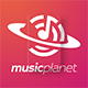 Musicplanet Logo - GraphicRiver Item for Sale