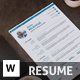 Resume CV Cover Letter - GraphicRiver Item for Sale