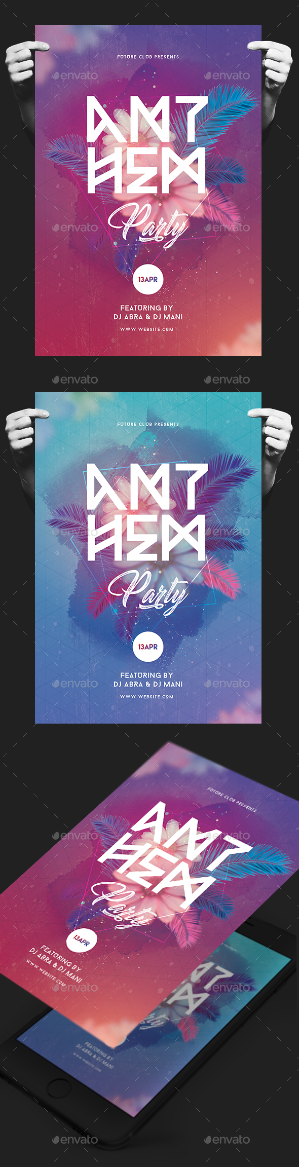 Creative Party Flyer - Clubs & Parties Events