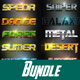 40 Foxe Bundle Text Effect Styles - GraphicRiver Item for Sale