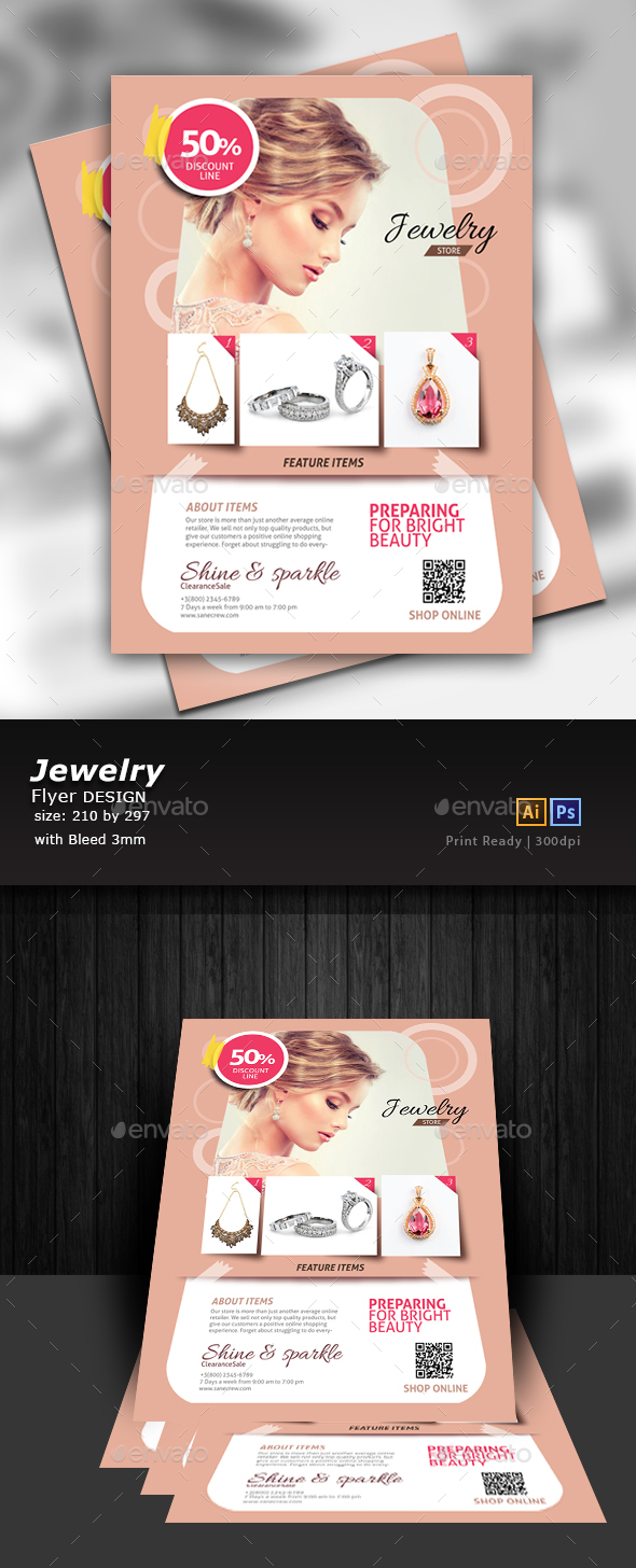 Jewelry Store Flyer - Events Flyers