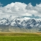 Scenery with Mountain Peaks and Cloudy Sky - VideoHive Item for Sale