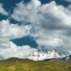 Rocky Mountains Snow Peaks Clouds Fast - VideoHive Item for Sale