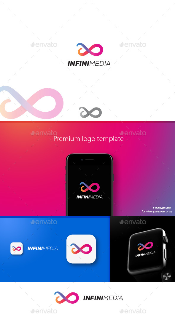 Infinimedia Logo - Symbols Logo Templates