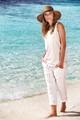 Beautiful woman on the beach - PhotoDune Item for Sale