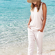 Nice girl walking on the beach - PhotoDune Item for Sale